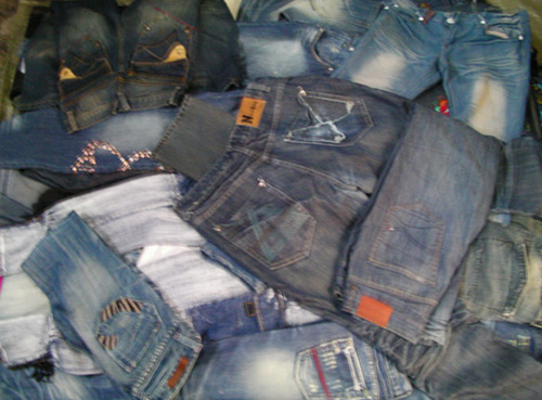 Top Quality Second Hand Jeans